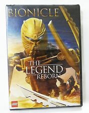Bionicle the legend reborn by lego DVD NEW