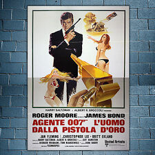 Original Poster 007 The Man with the Golden Gun - Roger Moore - 140x200 CM