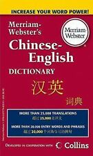 Merriam-Webster's Chinese-English Dictionary-ExLibrary