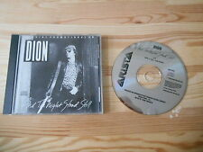 CD Pop Dion - And The Night Stood Still (1 Song) Promo ARISTA BMG