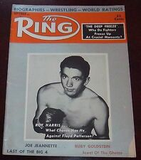 The Ring Magazine september 1958  Roy Harris Collectable