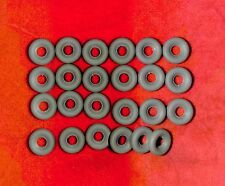 Racer Treaded Tires for Dinky Toys, Grey, 20mm, Foden and Racers, Lot of 24