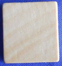 Single Scrabble Natural Wood Blank Tile Replacement Game Parts Pieces