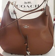 NEW COACH F38259 HARLEY HOBO PEBBLED LEATHER CONVERTIBLE STRAP SADDLE FREE SHIP!