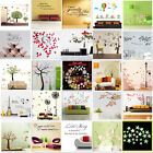 Wall Stickers Removable Decal Transfer Interior Home Art Vinyl Decor Quote New