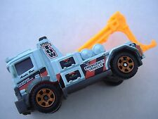 BABY BLUE Urban Tow Truck W4887. MBX Highway 82/120. LOOSE Fresh Out of Package!