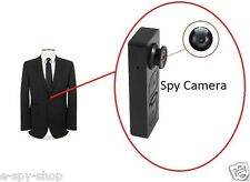 Mini Button Pinhole Spy Cam Camera Video Voice Hidden Security DVR Recorder UK