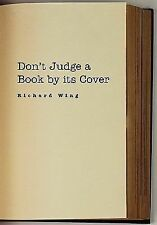 Don't Judge a Book by Its Cover by Richard Wing (2011, Paperback)
