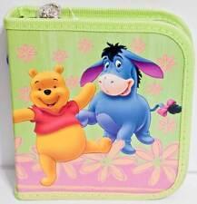 Disney Winnie The Pooh Eeyore Holds 24 CD or DVD Case