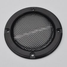 """2pcs 2""""inch black horn hood Speaker decorative circle With protective grille"""
