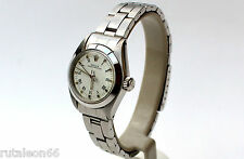 ROLEX 67180 78240 original OYSTER ladies SS automatic wristwatch (NEW old stock)