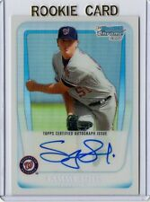 SAMMY SOLIS RC SP ***AUTO REFRACTOR*** 2011 Bowman Chrome Prospects #BCP106 /500