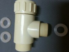 T adapter connecter, tee adopter, T connection for bidet, water hose,3/4x3/4x1/2