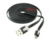 2M 3M EXTRA LONG  CHARGER USB CABLE for BLACKBERRY CURVE 8520 9300 9360 9320
