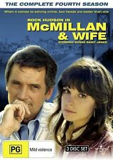 Mcmillan and Wife - The Complete Fourth Season DVD NEW