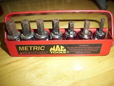 MAC TOOLS 6 PC PLUS 1 PC ALLEN HEX BIT SOCKET SET