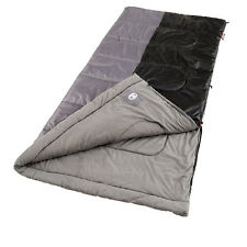 NEW! COLEMAN Camping Biscayne Large Warm Weather Sleeping Bag w/ Thermolock Tech
