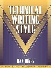 Technical Writing Style (Part of the Allyn & Bacon Series in Technical Communica