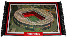 """Large Arsenal Emirates Wall Rug 100% Cotton, Washable, Approx 3' x 4'6"""" 90x140cm"""