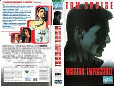 Mission: Impossible (1996) VHS