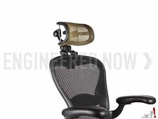 Engineered Now H3 -GOLD- Ergonomic Headrest for Herman Miller Aeron Chair