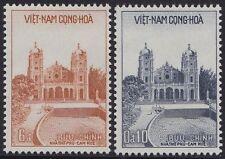 VIETNAM du SUD N°102/103** Cathédrale de Hué , 1958 South VietNam Cathedral MNH