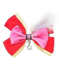 Disney Peter Pan Captain Hook Cosplay Hair Bow Tie Hair Clip New With Tags!