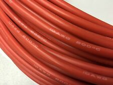 10 AWG Red Silicon Wire for RC ESC Motors Batteries 5 ft. (Shipped from USA)