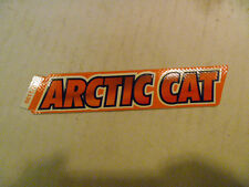 NEW OEM ARCTIC CAT SNOWMOBILE DECAL PART # 6611-577