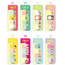 Side it Korean Stationery Sticker Post It Bookmarker Memo Pad Flags Sticky Notes