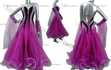 BALLROOM/STANDARD DANCE  DRESS WITH HIGH QUALITY  RHINESTONE  ST65E