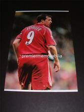 LIVERPOOL FC ROBBIE FOWLER LAST GAME v CHARTLON MAY 2007 PHOTOGRAPH