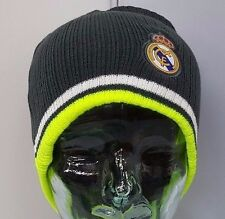 Real Madrid FC Fitted Beanie Winter Hat Cap NWT OSFM #K1A24 Official Product