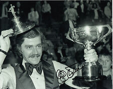 Cliff Thorburn Snooker Hand Signed Photo 10x8 2.