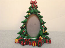 "7+"" Resin Christmas Tree Photo Frame    (#C-1)"