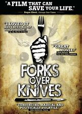 FORKS OVER KNIVES--   UK DVD  NEW/SEALED  DIET EATING VEGAN VEGETARIAN