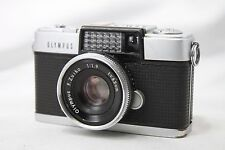 **For Repair** Olympus Pen D Film Camera w/F.Zuiko 32mm 1:1.9 Lens #H018b