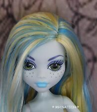 Monster High Lagoona Blue STUDENT DISEMBODY COUNCIL Nude Doll