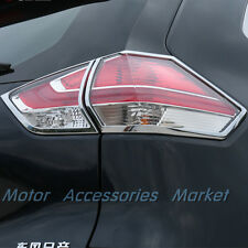New Chrome Rear Light Cover Trim For Nissan Rogue X-trail 2014 2015 2016