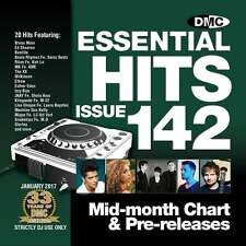 DMC Essential Hits 142 Chart Music DJ CD - Latest Releases of Radio Edit Tracks