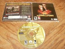 The Sum Of All Fears PC CD-ROM Red Storm Ubi Soft 2002 Tom Clancy Win98/Me/2k/XP