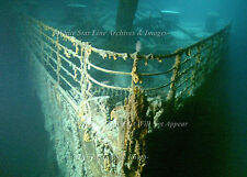 "Photo: 5"" x 7"": Titanic's  Bow On The Sea Floor: Wide Field View"
