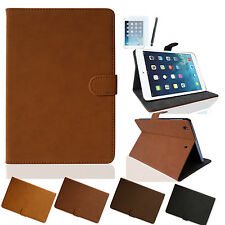 iPad Air 2 VELOURS Smart Cover Case Schutz Hülle iPad 6 Tasche Etui Folie Pen