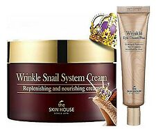 THE SKIN HOUSE Snail Healing Cream 100ml +Wrinkle Eyecream PLUS 30ml
