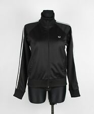Fred Perry Women Jumper Track Jacket Size EUR-42,UK-14, Genuine