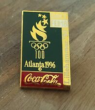 Coca-Cola Lillehammer 1994 Olympic Pin of the Day - Day 7 Atlanta 1996