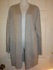 *NWT* EILEEN FISHER FEATHERWEIGHT CASHMERE LONG STRAIGHT CARDIGAN $398~XLARGE