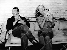 Pic Clark Gable Carole Lombard and their siamese cats dp-9282