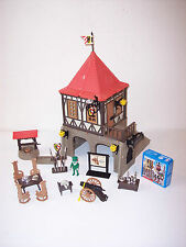 Playmobil 3449 musée 98% complete + 6107 New