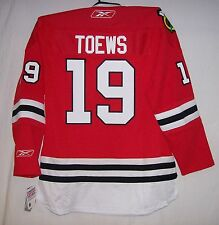 TOEWS Womens Chicago Blackhawks Reebok Premier Ladies Home Red Jersey Small